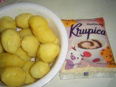 brambory_krupice_mp Potatoes, Vegetables, Food, Potato, Essen, Vegetable Recipes, Meals, Yemek, Veggies