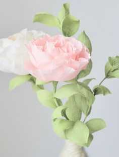 Handmade Paper Flowers by Blooms in the Air