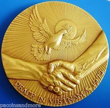 """1973 Medallic Art Co. 999 Silver 6+ Troy oz """"Our Boys Are Home"""" #2 of 250 Rare"""