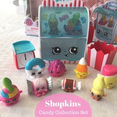 Shopkins Candy Collection Playset