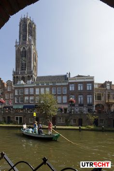 Dom Tower and the beautiful canals. #Utrecht