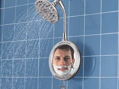 Great #shaving mirror for your #shower.