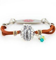 Hooty Who Medical ID Bracelet http://www.laurenshope.com/product/2591/C369/hooty-who-medical-id-bracelet/size