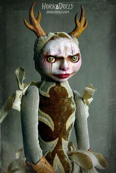 art doll SYLIA HorkaDolls