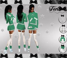 ✿ ¸. • * ¨ * • ☆Just out of Peer!☆ ¸. • * ¨* • ✿  ✮MINT WHITE SWEATER BUNDLE: http://www.imvu.com/shop/product.php?products_id=22289909  *Comes with outfit, scarf, necklace, earrings, and boots.  ✿My Full Catty: http://www.imvu.com/shop/web_search.php...  ✿☆ ¸. • * ¨ * • ☆Just out of Peer ☆ ¸. • * ¨* • ☆✿