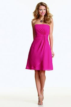 Jordan Fashions Bridesmaids Dress Style:383 (Available in Short, Knee, & Floor Length. Available in various colors.)
