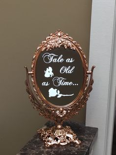 A personal favorite from my Etsy shop https://www.etsy.com/listing/279140816/tale-as-old-as-timebeauty-and-the-beast