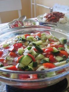 Sherry's Cucumber Salad (17 Day Diet, Cycle 1)