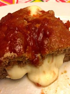 Easy Cheese Stuffed Meatloaf Recipe With Gooey Melted Cheese Inside – Melanie Cooks Meatloaf Recipe With Cheese, Cheese Stuffed Meatloaf, Meat Loaf Recipe Easy, Stuffed Meatloaf Recipes, Cheese Recipes, Beef Recipes, Cooking Recipes, Hamburger Recipes, Recipies