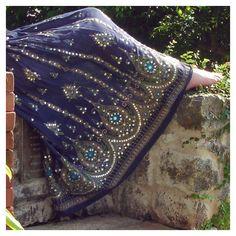 Navy Blue Gypsy Skirt Boho Festival Skirt Long Indian Peasant Skirt Bohemian Crinkled Maxi Skirt, (47 AUD) found on Polyvore featuring skirts, dark olive, women's clothing, long sheer skirt, sequin maxi skirt, long gypsy skirts, long bohemian skirts and long boho skirt