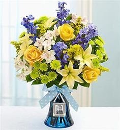 14 Best Baby Boy Arrangements Images New Baby Flowers Floral