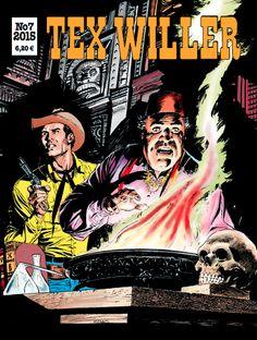 Tex Willer -lehti no 7/2015. #egmont #sarjakuva #sarjis #sarjakuvalehti