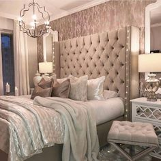 Home Decor Bedroom .Home Decor Bedroom Feminine Bedroom, Modern Bedroom, Master Bedrooms, Master Suite, Contemporary Bedroom, Bedroom Ideas For Couples Master, Contemporary Style, Beautiful Bedrooms For Couples, Master Master