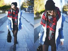 Sherling jean jacket.