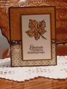 Thanksgiving 2011 by JJ Rubberduck - Cards and Paper Crafts at Splitcoaststampers