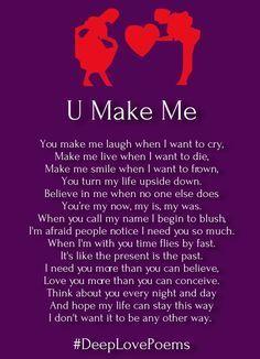 deep love poems for him