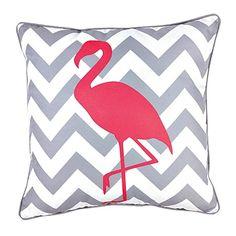 Elemis Cushion Chevron Flamingo Pink - Cushions & Throws - Living Room - Homewares - The Warehouse