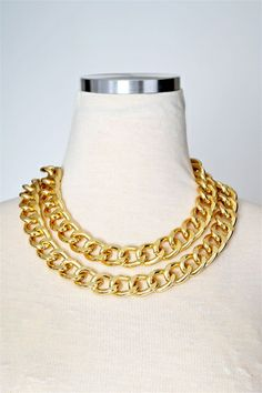 Classic Luxe Double Chain Necklace