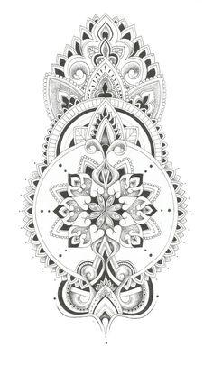 Shoulder spray by georgiapikari Leg Tattoos, Body Art Tattoos, Tribal Tattoos, Sleeve Tattoos, Tattos, Hals Tattoo Mann, Tattoo Hals, Mandala Tattoo Design, Henna Tattoo Designs