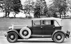 1929 Lincoln Dietrich 4-Door Convertible Sedan