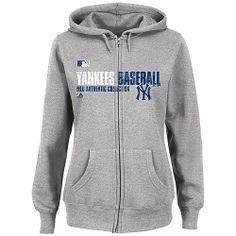 New York Yankees Women's AC Team Favorite Full-Zip Hooded Fleece by Majestic Athletic - MLB.com Shop