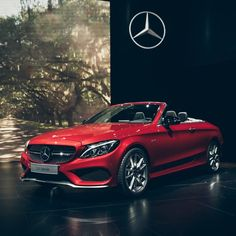 「 Mercedes-Benz is launching into the #openairseason with the first cabriolet based on the C-Class. With its sporty and youthful character, it offers… 」