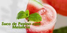 Juice de Pepino com Melancia