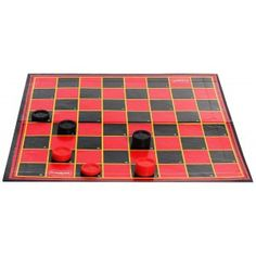 2 players checkers chest