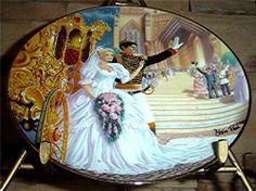 Cinderella Franklin Mint Kirk Reinert Steve Read Collectible Plates Lot of 3 Franklin Mint, Fairy Godmother, Full Set, Happily Ever After, Cinderella, Gems, Princess Zelda, Plates, Reading