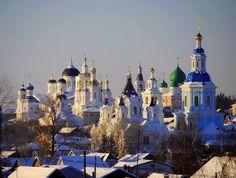 Храмов золотые купола,Как чудесны вы под зимним солнцем! Арзамас