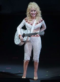 dolly parton wip: Dolly Parton performs at Red Rocks in Colorado on July 27, 2016.