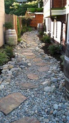 88 Cool Front Yard Rock Garden Landscaping Ideas - 88homedecor