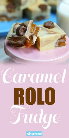 If you're a fudge lover, Caramel Rolo Fudge will blow your mind! This stuff is so decadent, and packed with Rolo chocolate galore! One batch of this treat will go a long way, but you'll be hooked after just a bite! If you're looking for a quick and easy dessert recipe that's made to share, this one's for you.