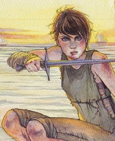 Arya Stark in Braavos by Anne Hathaway