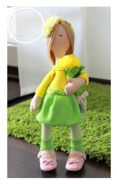 Textile Dolls 43 cm