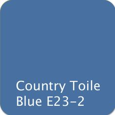 Color match of Rodda Paint 487 Country Blue*
