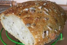 Bread And Pastries, Czech Recipes, Bread Recipes, Deserts, Food And Drink, Low Carb, Healthy Recipes, Homemade, Baking