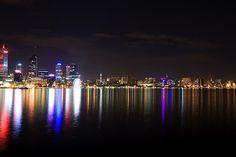 Perth City Western Australia.