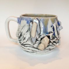 Porcelain Jewel coffee Mug Mountain Mug Winter Mug Beach Mug Tea Mug