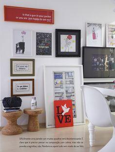 Paredes de dar inveja. Veja mais: https://casadevalentina.com.br/blog/detalhes/paredes-de-fazer-inveja-2799 #details #interior #design #decoracao #detalhes #decor #home #casa #design #idea #ideia #color #cor #wall #parede #casadevalentina