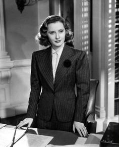 Check out Barbara Stanwyck in Breakfast For Two and other films during TCM's Summer Under the Stars — featuring a different star every day in August. Old Hollywood Actresses, Old Hollywood Stars, Hooray For Hollywood, Golden Age Of Hollywood, Vintage Hollywood, Classic Hollywood, Hollywood Icons, Vintage Vogue, Barbara Stanwyck