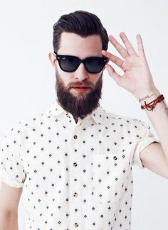 #Shades & a short-sleeve shirt
