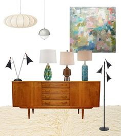 Image result for Mid Century Home Interiors