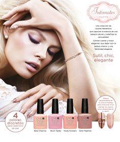 Estamos enamorad@s de la nueva colección #Intimates de #CND #Shellac: #elegante y #femenina.   -   #esmaltes #nailpolish #belleza #beauty #makeup #manicure #nails #manicura #uñas