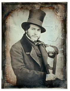 "Frederic Brisson in 1848. He is described as ""en haut de forme"". I can't disagree, nor would he."