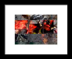 Tranquility Framed Print featuring the photograph Fire And Water by Janis Kirstein