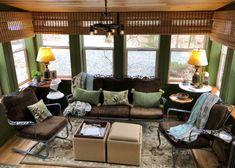 Windows For Sunroom Built Ins - Windows For Sunroom - Georgena Ozanne Built In Shelves, Built Ins, Iron Furniture, Outdoor Furniture Sets, Sunroom Window Treatments, Sunroom Windows, Four Seasons Room, Victorian Frame, Go Green
