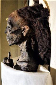 Queen Tiye Egyptian Mummies, Ancient Egypt, Lion Sculpture, Louvre, Statue, 18th, Queen, History, Historia