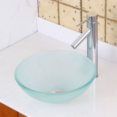 Found it at Wayfair - Double Layered Tempered Glass Round Bathroom Sink