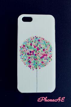 iPhone5/5s Multi-color balloon pattern hard case shop at www.etsy.com/shop/iphoneae